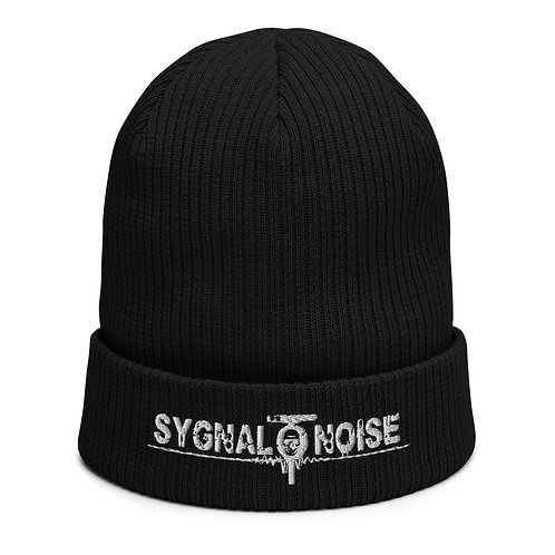 Signal To Noise - Organic Ribbed Beanie