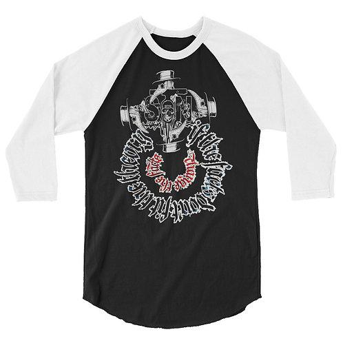 Facts & Theory - 3/4 sleeve raglan shirt