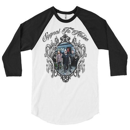 Band Photo - 3/4 Sleeve Raglan T-Shirt