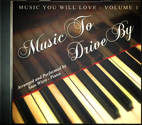 Music To Drive By Cocktail Piano CD