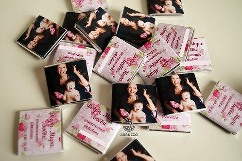 Шоколадка-визитка с фото 5гр