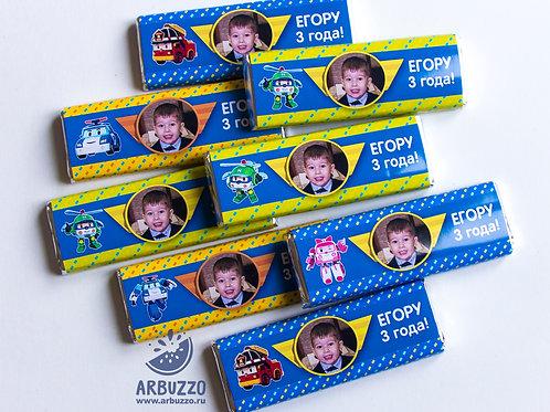 "Шоколадка ""Робокары"" 20 гр"