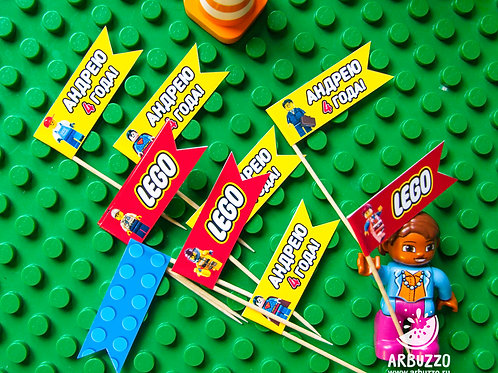 Топпер-флажок LEGO