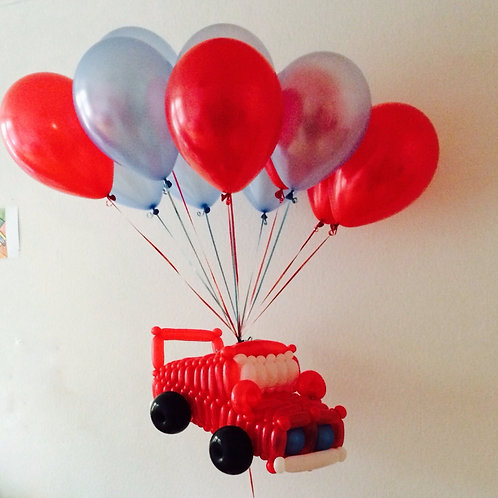 Машинка на шариках
