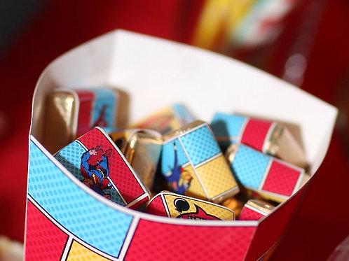 "Шоколадка птичье молоко ""Супергерои"" (комиксы)"