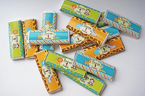 """Шоколадка """"Сафари"""" 20гр"""