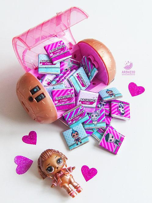 Шоколадка LOL 5гр