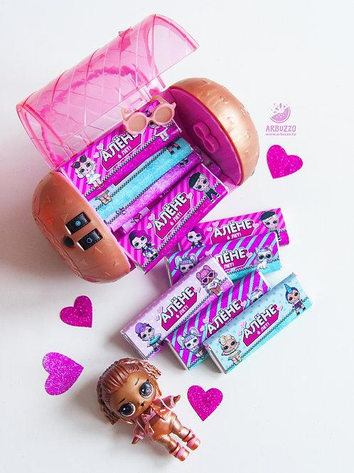 Шоколадка LOL 20гр
