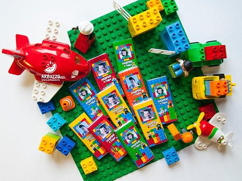 Шоколадка LEGO 60гр