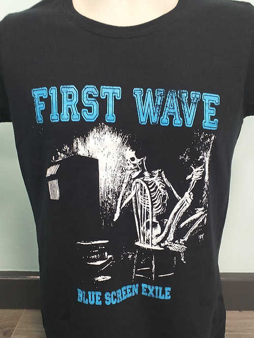 NEW --Blue Screen Exile T-Shirt.