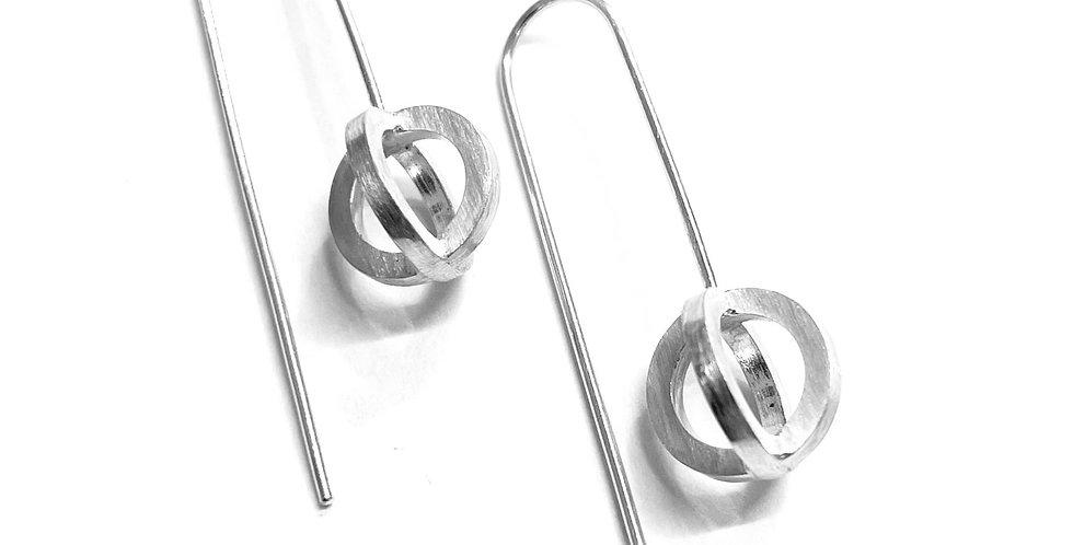 Atom Drop Earrings
