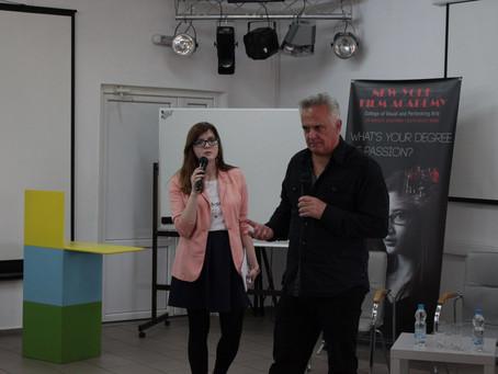 Посещение мастер-класса по сценарному мастерству с американским сценаристом  Полом Брауном