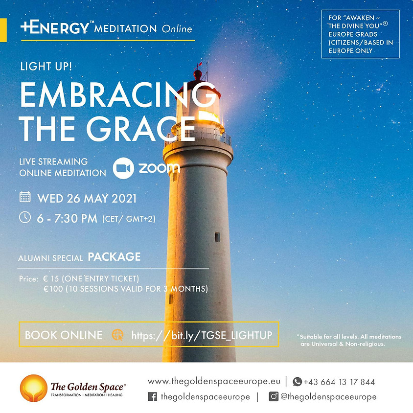 """EMBRACING THE GRACE Light-Up Online for the """"Awaken ~ The Divine You"""" Graduates"""