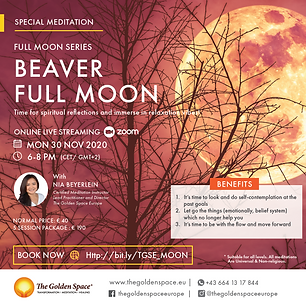 Full Moon Meditation is a platform for you to do self-contemplation and energy work.