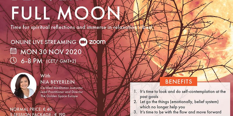 BEAVER Full Moon (Full Moon Meditation Series)