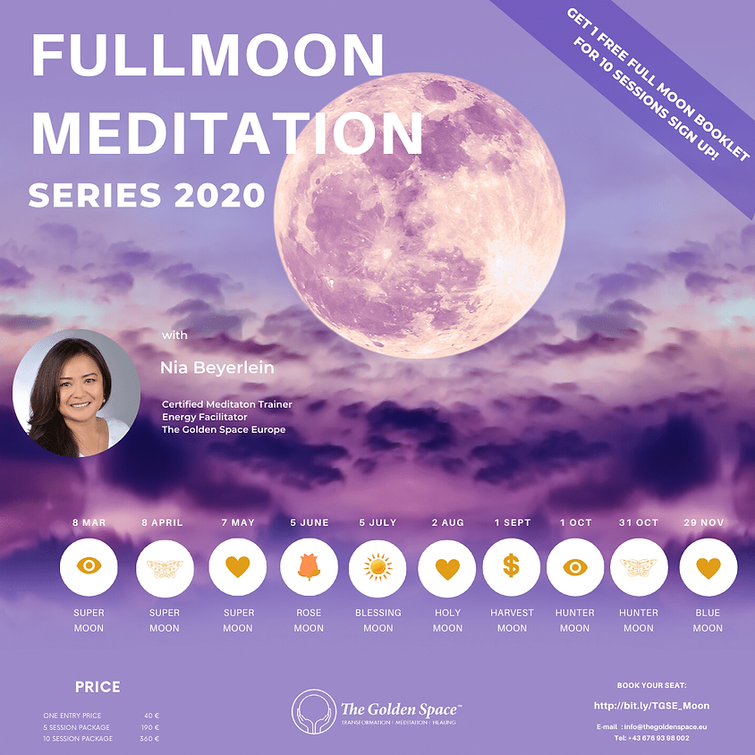 SUPER SEED Full Moon (Full Moon Meditation Series)