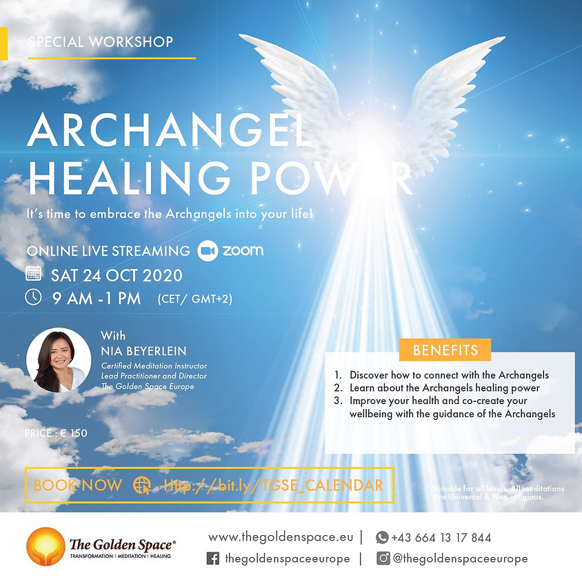 Special Workshop: Archangels Healing Power