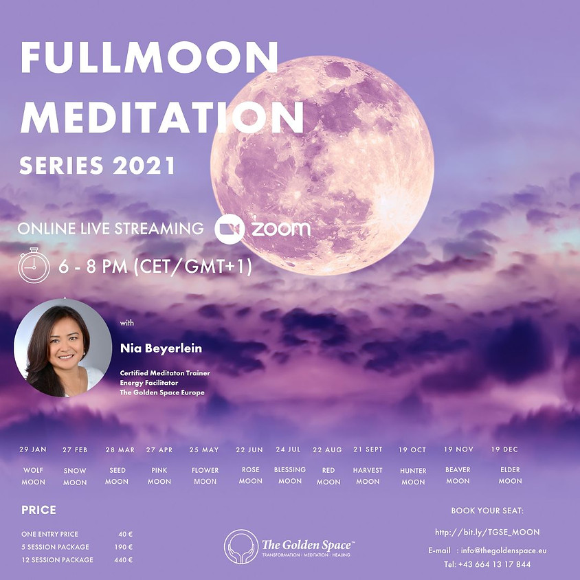 BLESSING Moon (Full Moon Meditation Series)