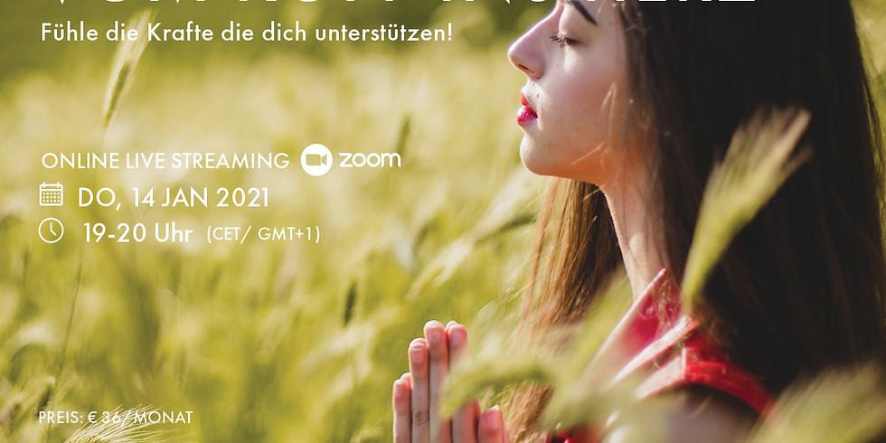 Me-Time-Meditation Januar vom Kopf ins Herz