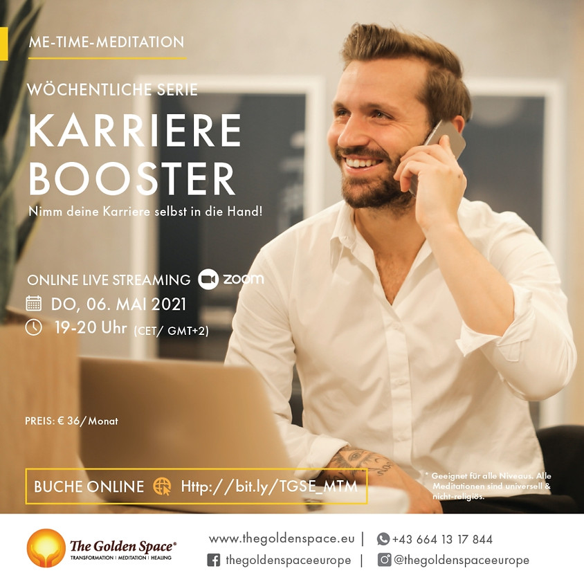 Me-Time-Meditation Mai Karriere Booster