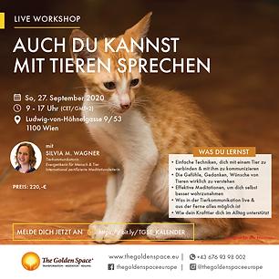 Willst du einfache Techniken kennen lernen, um mit deinem geliebten Tier zu kommunizieren? Willst du endlich verstehen, was Tiere WIRKLICH denken, fühlen und sich von uns wünschen?
