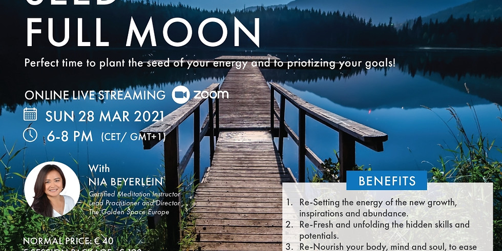 SEED Moon (Full Moon Meditation Series)