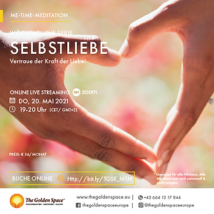 The Me-Time-Meditation is intended for those who want to change their lives in a record time.  Die Me-Time-Meditation ist für die gedacht, die mehr für sich selbst tun wollen.