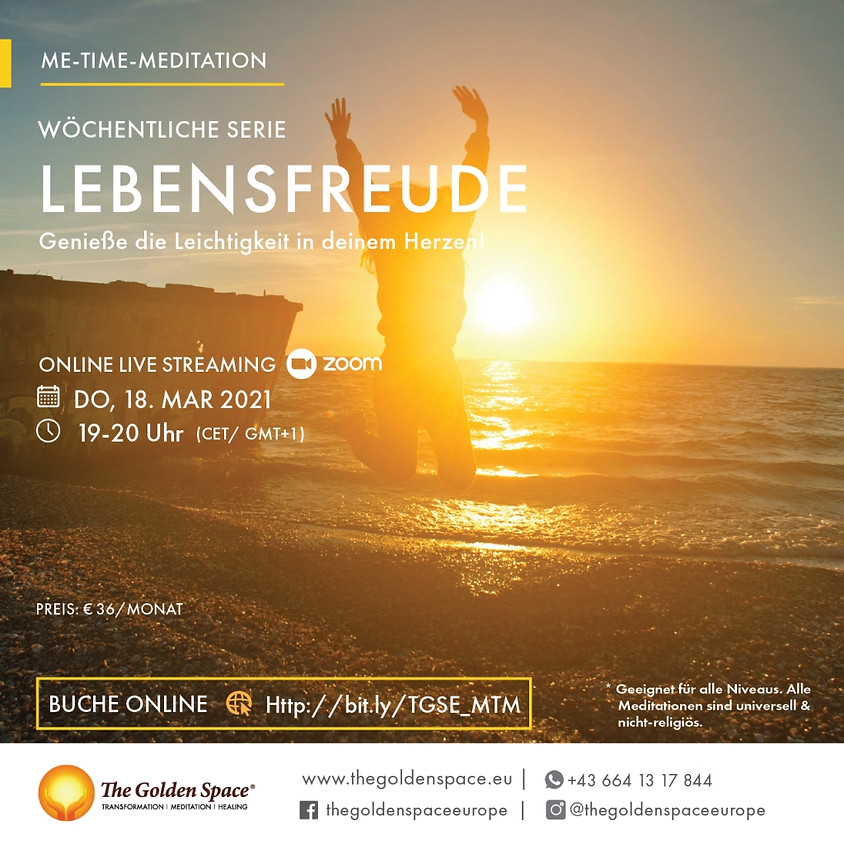 Me-Time-Meditation March Lebensfreude