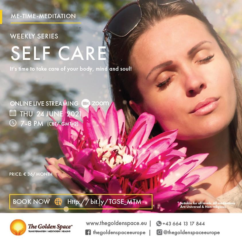 Me-Time-Meditation Self Care Juni
