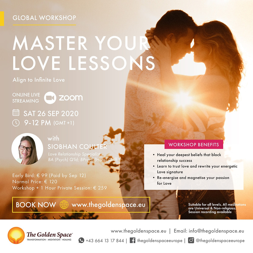 Master Your Love Lessons