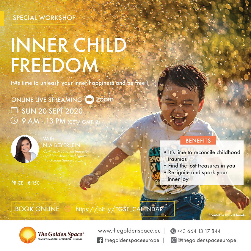 Special Workshop: Inner Child Freedom