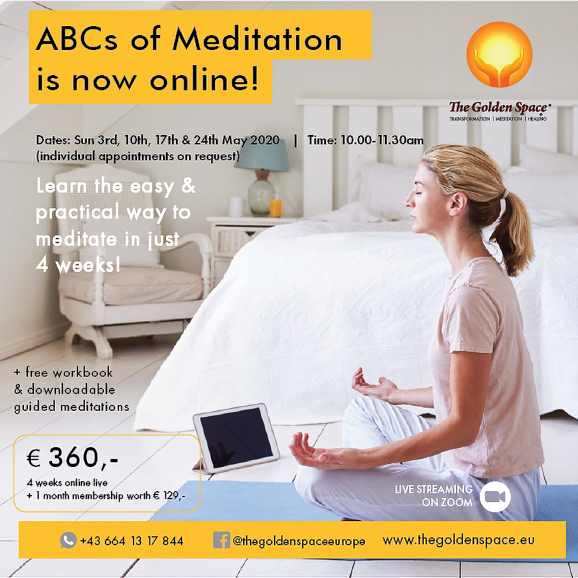 The ABCs of Meditation Online