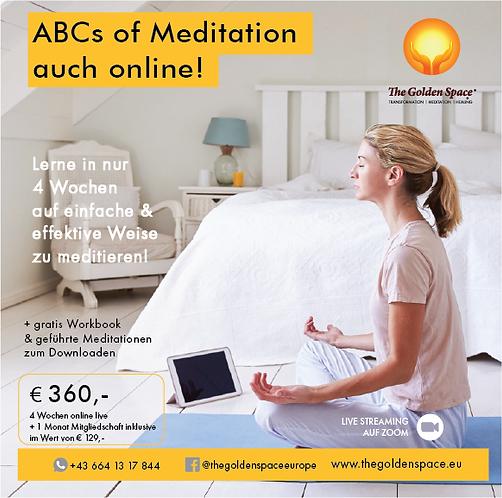 The ABCs of Meditation plus membership