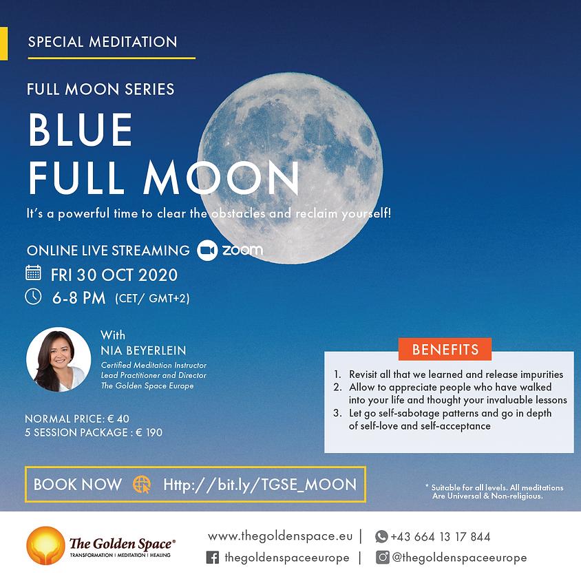 BLUE Full Moon (Full Moon Meditation Series)