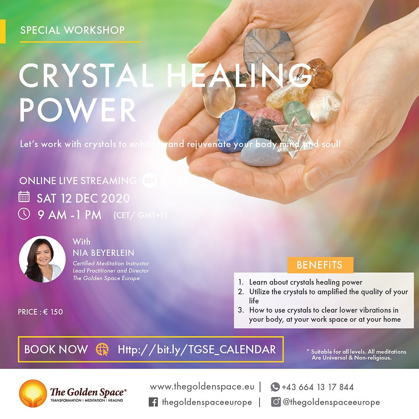 Special Workshop: Crystal Healing Power