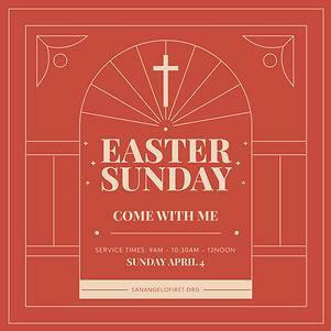 Sunday Service IG POST invite traditiona