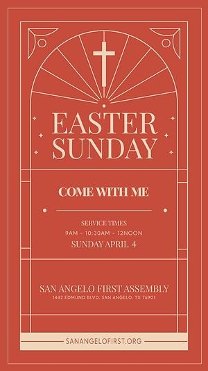 Sunday Service IG STORY invite tradition