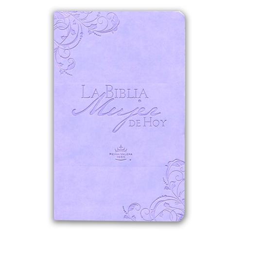 Biblia mujer de hoy RVR60 – Lila