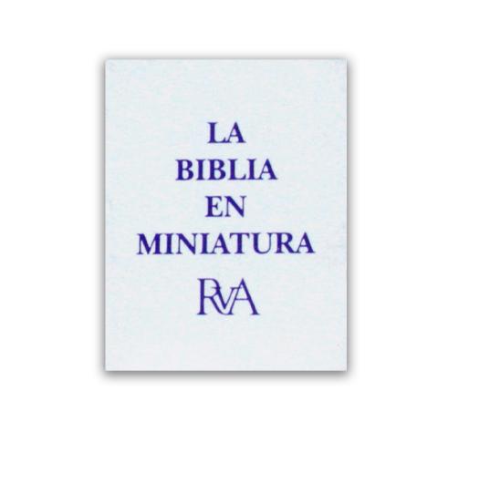 La Biblia en miniatura RVA