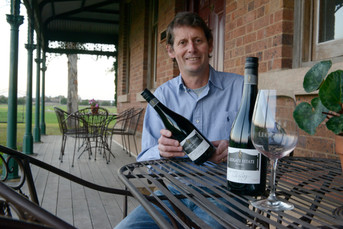 From tennis to wine, Mark Woods is an ace