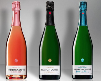 An excellent new Champagne range