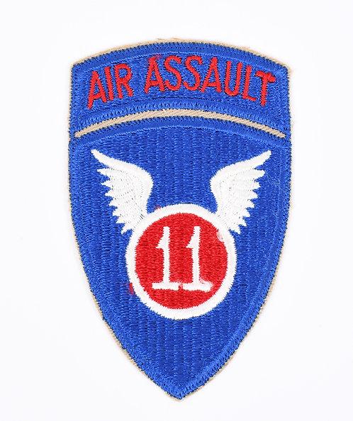 Vietnam War 11th Air Assault Division shoulder patch