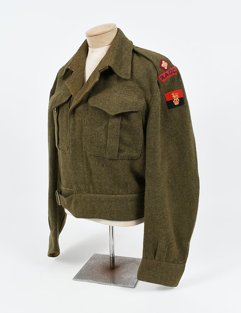 WWII ROYAL CANADIAN ARMY OFFICER BATTLEDRESS TUNIC