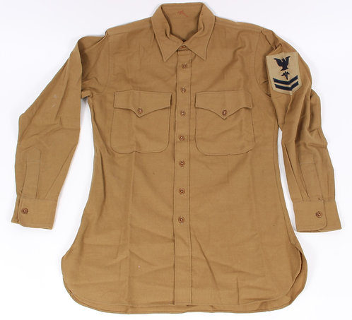 WWII USMC Regulation Navy Corpsman flannel shirt