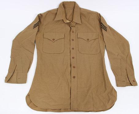 WWII USMC Marine Corps Regulation NCO flannel shirt