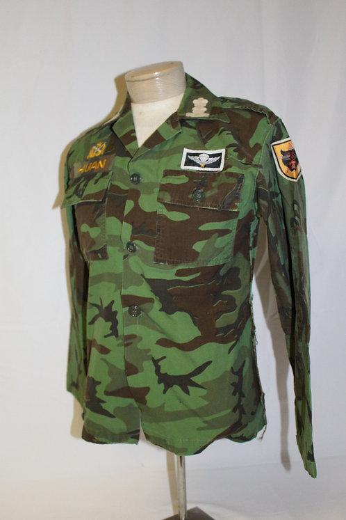 Vietnam War ARVN ranger camo shirt