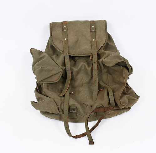 Early Vietnam War US Advisor MACV jungle rucksack French made Lafuma