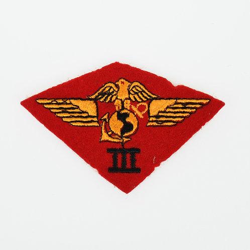 WWII USMC 3rd Marine Air Wing felt shoulder patch