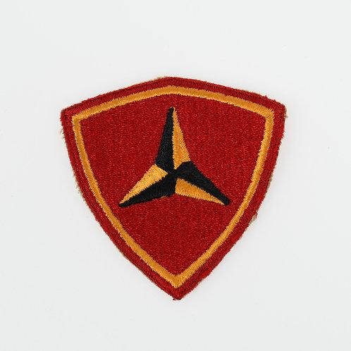 WWII USMC 3rd Marine Division shoulder patch
