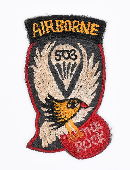 WWII 503rd Parachute Regimental Combat team theater made patch